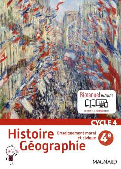 Histoire-Géographie EMC 4e (2016)