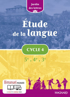 Étude de la langue Cycle 4 (2016)