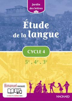 Étude de la langue Cycle 4 (2016)